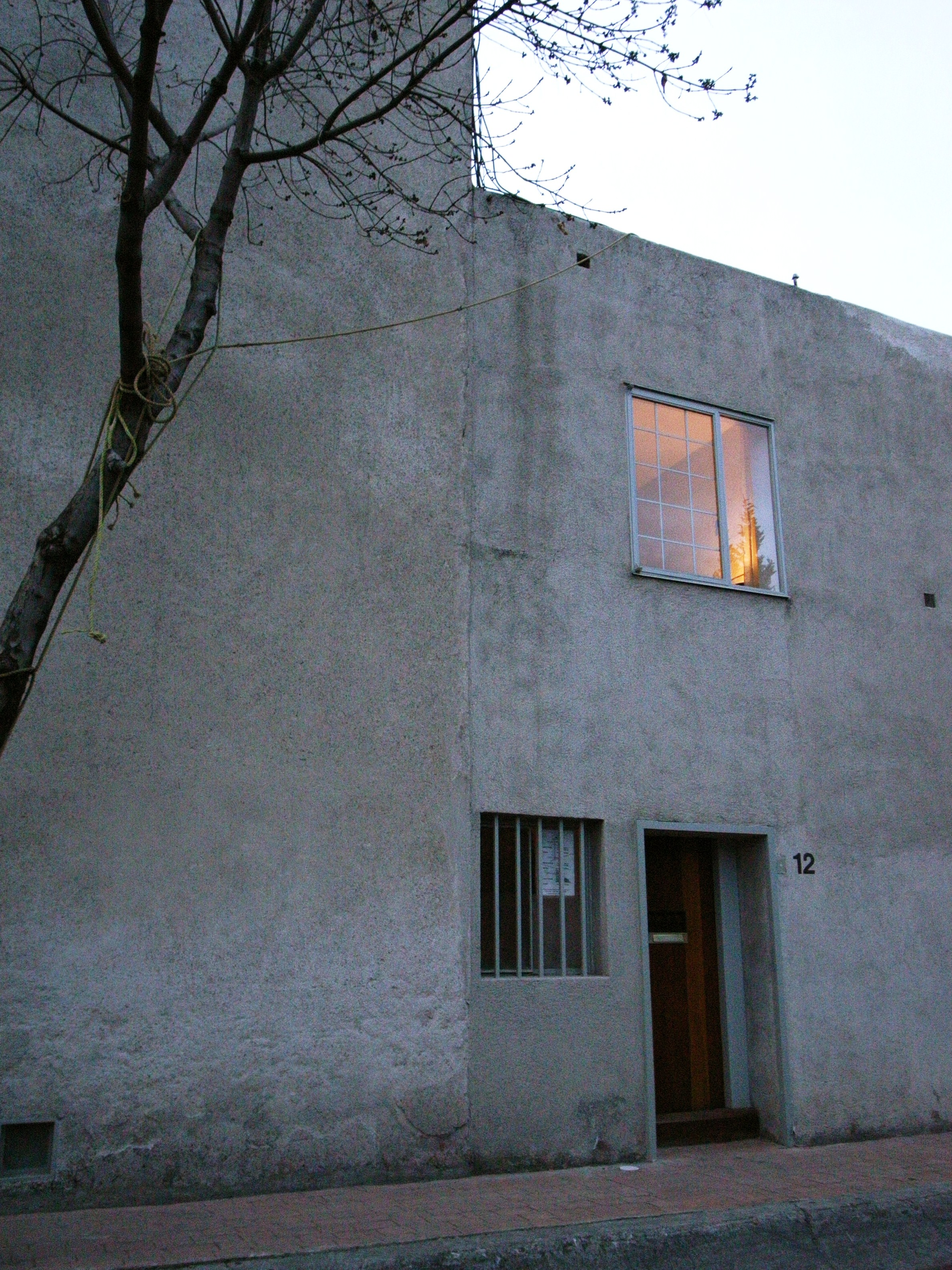 Galer a cl sicos de arquitectura casa estudio luis for Casa estudio arquitectura