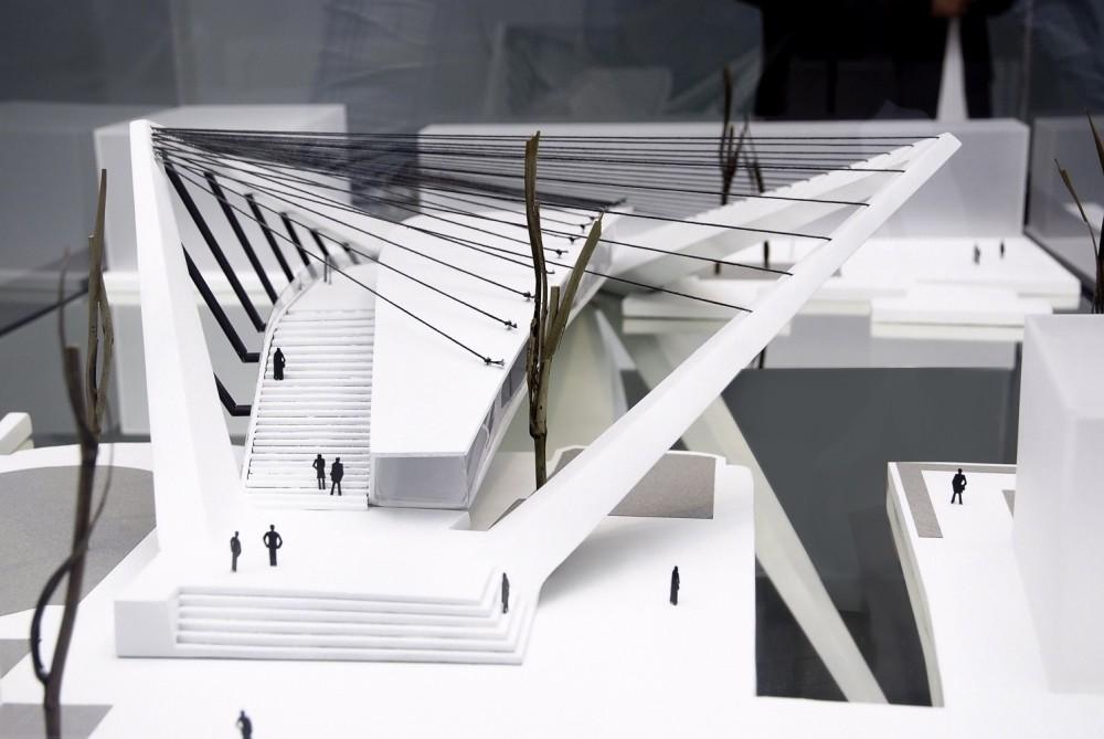 Pedestrian bridges page 5 skyscraperpage forum for High tech arquitectura