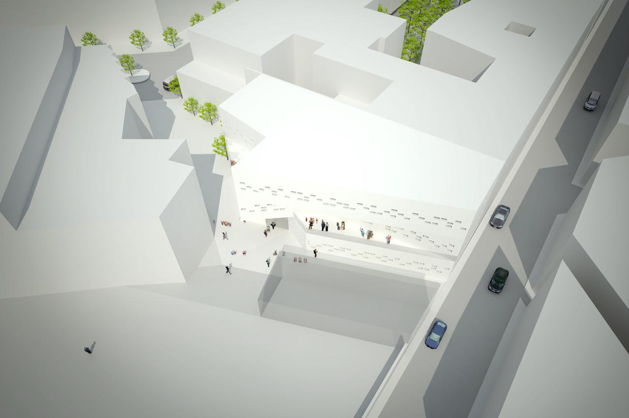 Galer a escuela municipal de m sica y danza en ciudadela for Estudios de arquitectura la plata