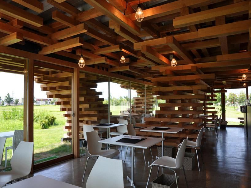 Café Kureon / Kengo Kuma & Asociados (1) Cortesía de Kengo Kuma & Asociados
