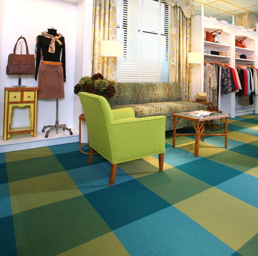 Interface: Alfombras Modulares Retail