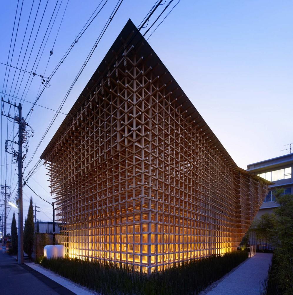 Museo y Centro de Investigación GC Prostho / Kengo Kuma & Asociados (11) © Daici Ano