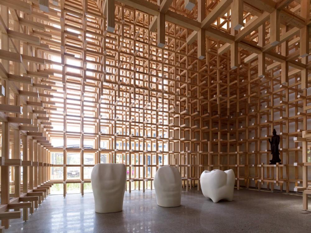 Museo y Centro de Investigación GC Prostho / Kengo Kuma & Asociados (9) © Daici Ano