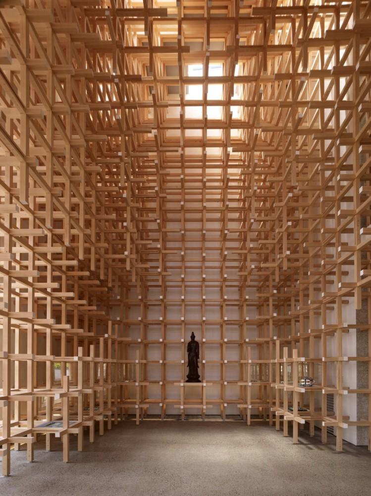 Museo y Centro de Investigación GC Prostho / Kengo Kuma & Asociados (8) © Daici Ano