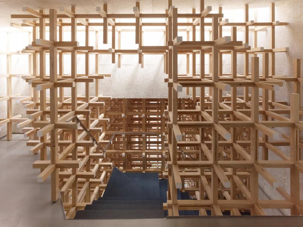 Museo y Centro de Investigación GC Prostho / Kengo Kuma & Asociados (7) © Daici Ano