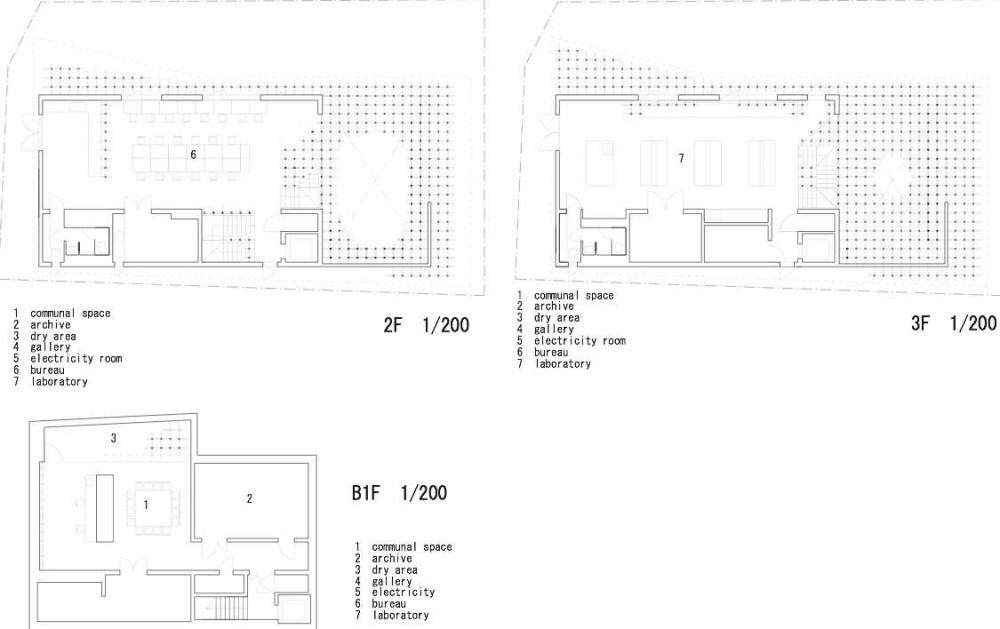Museo y Centro de Investigación GC Prostho / Kengo Kuma & Asociados (2) Plantas 2