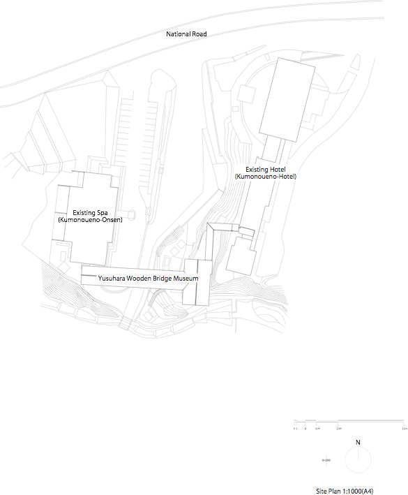 Yusuhara, Museo Puente de Madera / Kengo Kuma & Associates (10) Emplazamiento