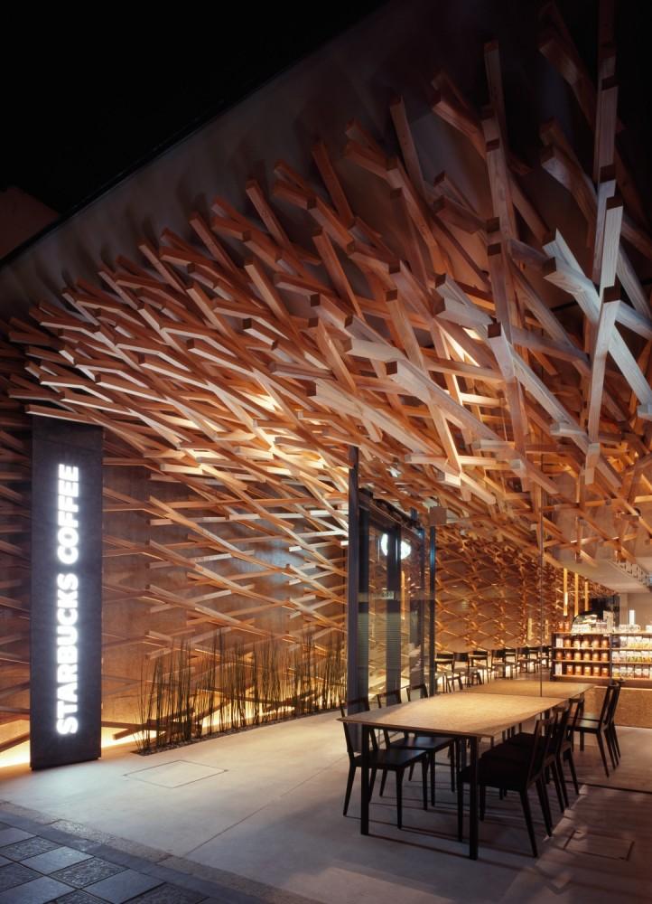 Starbucks Coffee / Kengo Kuma & Associates (10) © Masao Nishikawa