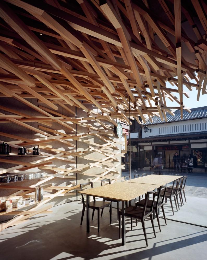Starbucks Coffee / Kengo Kuma & Associates (7) © Masao Nishikawa