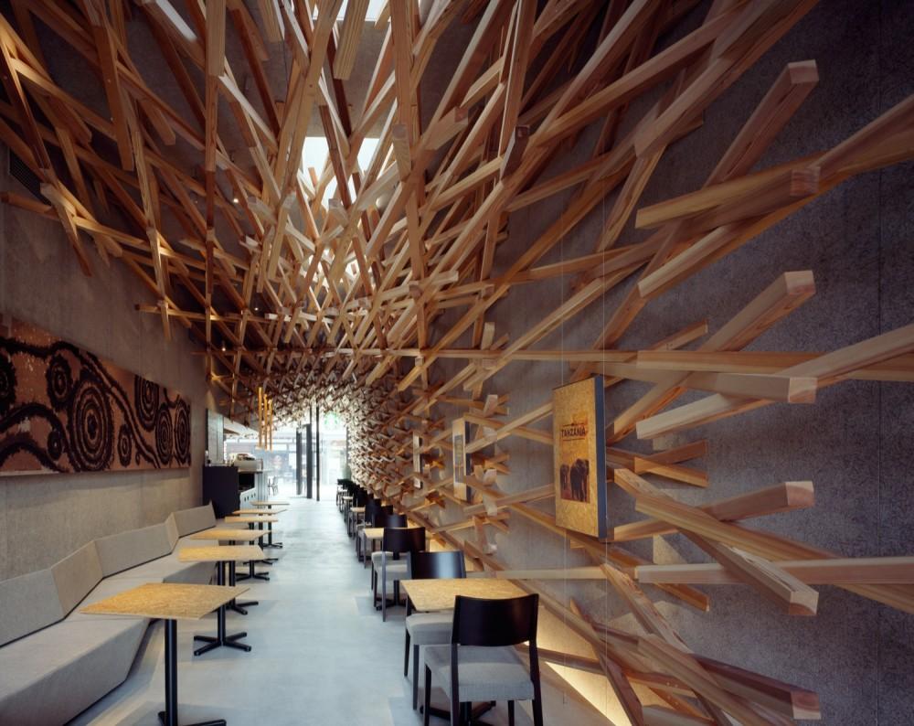Starbucks Coffee / Kengo Kuma & Associates (6) © Masao Nishikawa