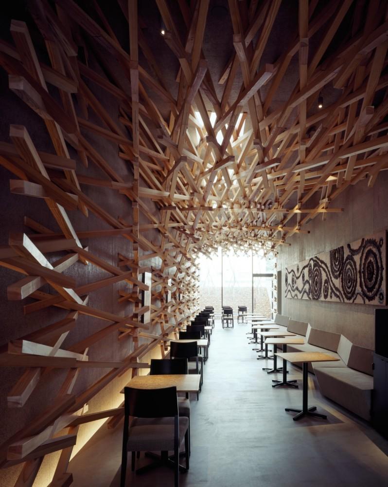 Starbucks Coffee / Kengo Kuma & Associates (5) © Masao Nishikawa