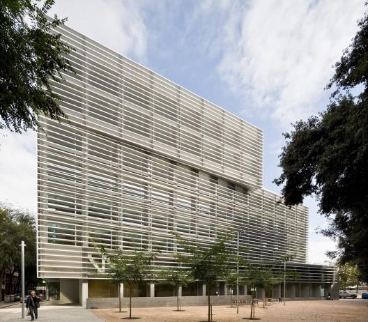 edificio de oficinas de la tesorer a de la seguridad On oficinas tesoreria seguridad social barcelona
