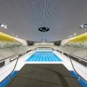 Centro Acuático de los Juegos Olímpicos de Londres 2012 / Zaha Adid Architects  (52) © Hélène Binet / Hufton + Crow