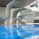 Centro Acuático de los Juegos Olímpicos de Londres 2012 / Zaha Adid Architects  (51) © Hélène Binet / Hufton + Crow