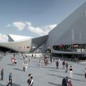 Centro Acuático de los Juegos Olímpicos de Londres 2012 / Zaha Adid Architects  (19) © Hélène Binet / Hufton + Crow