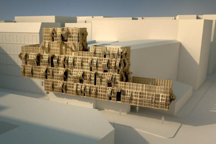 Shipping-Pallet-Facade-Stephane-Malka-10 ©  AME-LOT