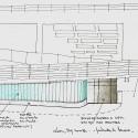 Oficinas Glem / Mareines + Patalano Arquitetura (41) croquis fachada