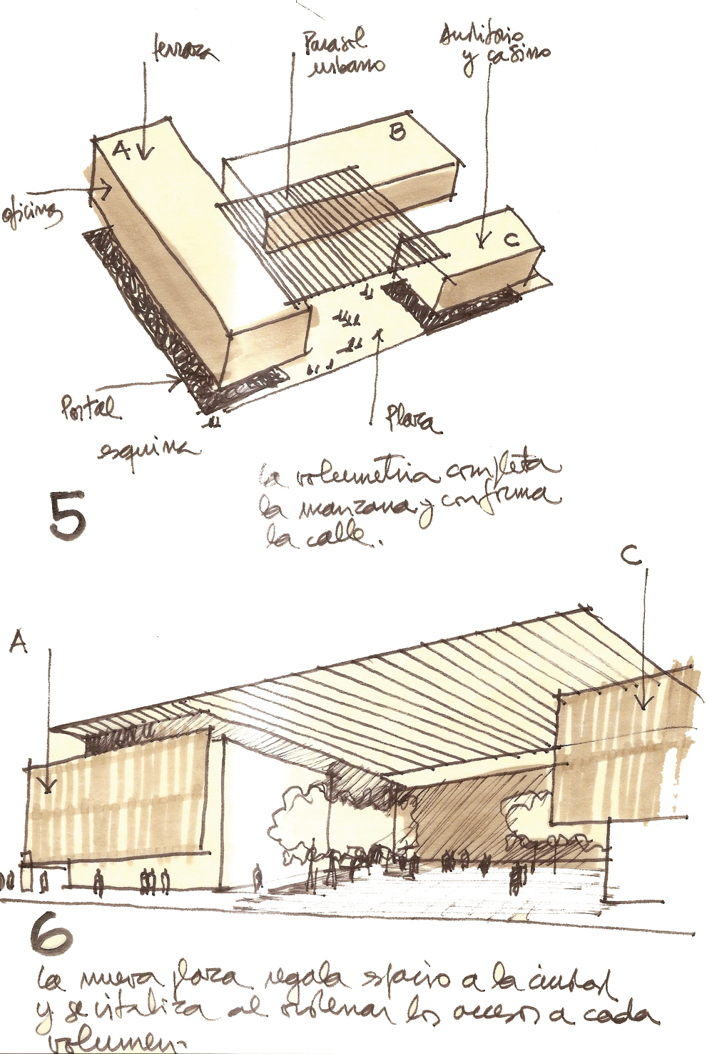 Sketch On Pinterest Architectural Sketches Sketches And