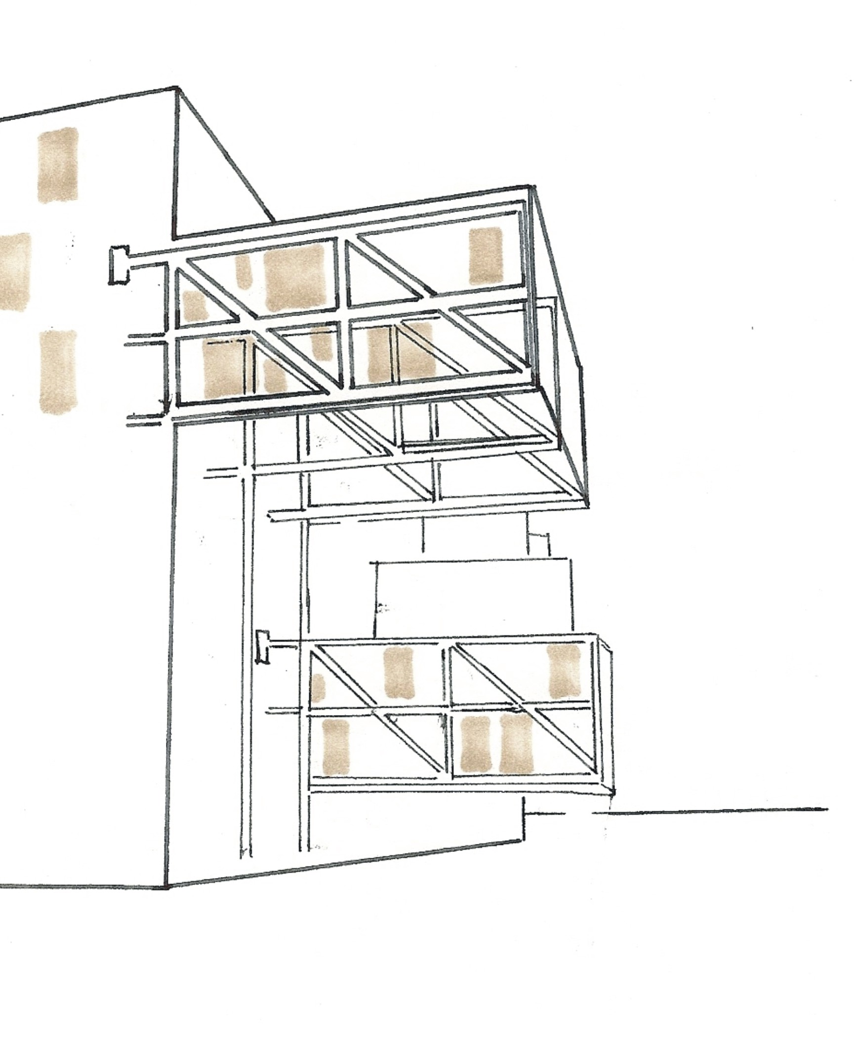 Buildings on pinterest steven holl beijing and netherlands for Apartment structural plans