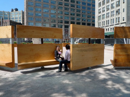 Mobiliario urbano del proyecto lentspace interboro for Mobiliario espacio publico