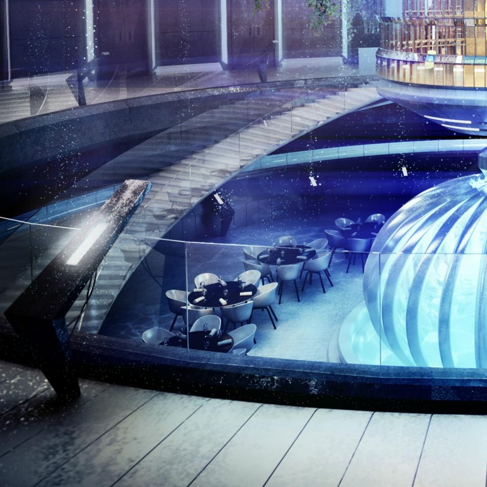 Hotel Submarino planeado para Dubai  (9) Vía Archdaily