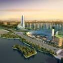 En Construcción: Anhui Broadcasting & TV Centre / NDA (2) Render