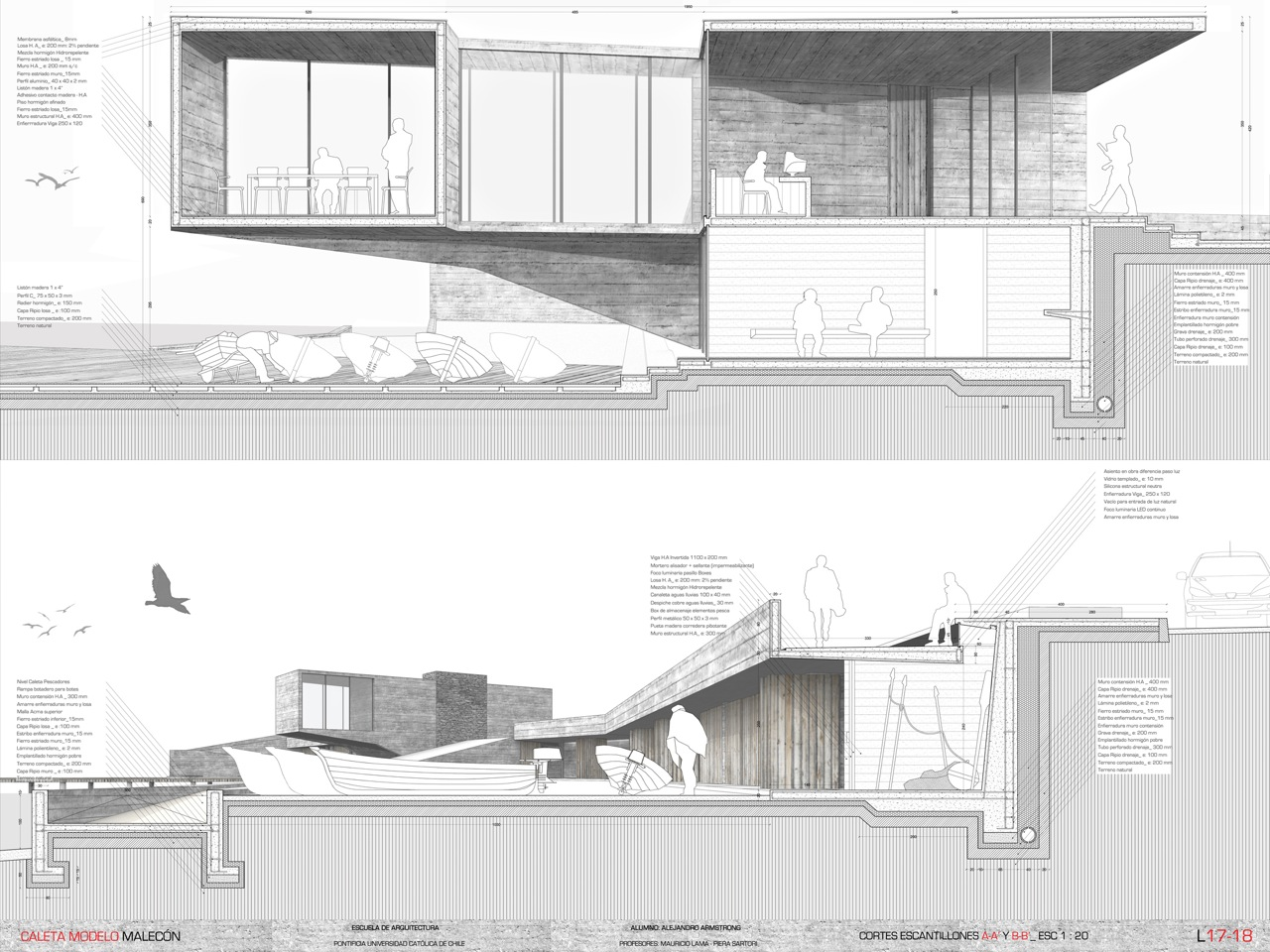Galer a ganadores concurso nacional de proyectos de for Proyectos arquitectura