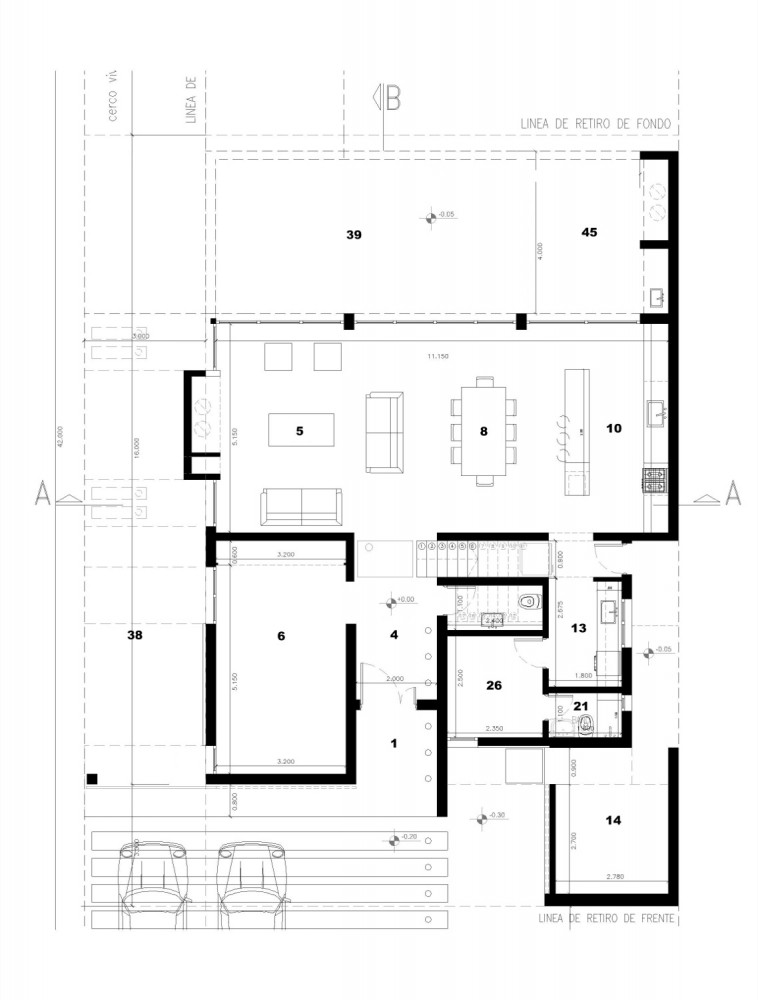 Vivienda unifamiliar am50 hogar dulce concepto taringa - Diseno vivienda unifamiliar ...
