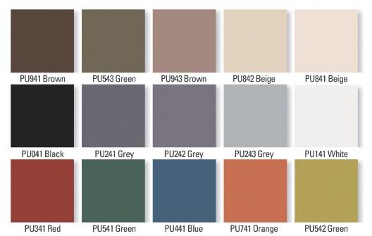 Cartilla de colores para exteriores imagui for Cartilla de colores