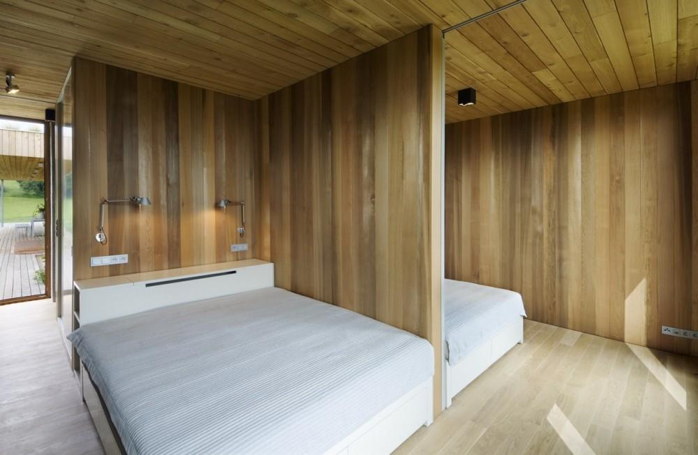 Casa de veraneo en rep checa taringa - Madera paredes interiores ...