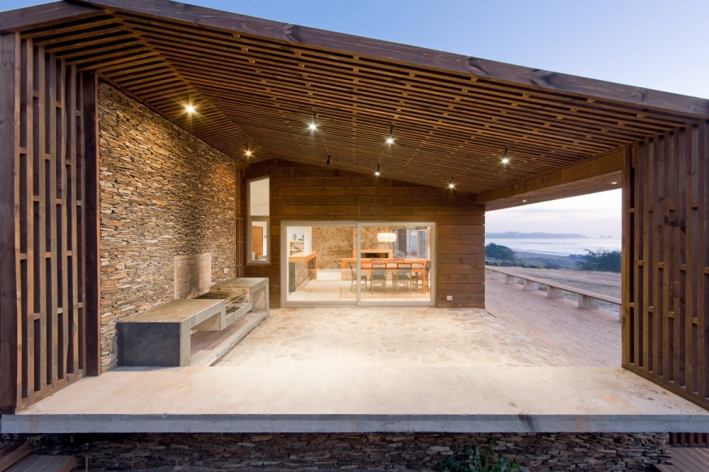 Casa z calo land architects taringa for Zocalo fachada exterior