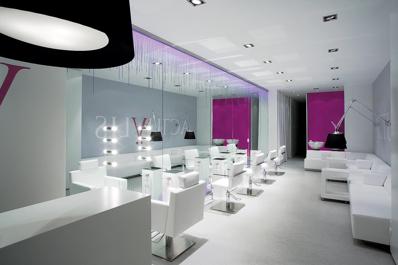 Galer a sal n de belleza actu lis cm2 disseny 8 - Salones de peluqueria decoracion fotos ...