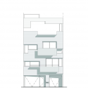 Edificio Demaría / Monoblock + Estudio Nómade Elevation 01