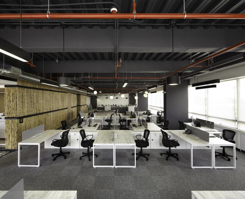 Galer a oficinas jwt aei arquitectura e interiores 3 for Oficinas interiores