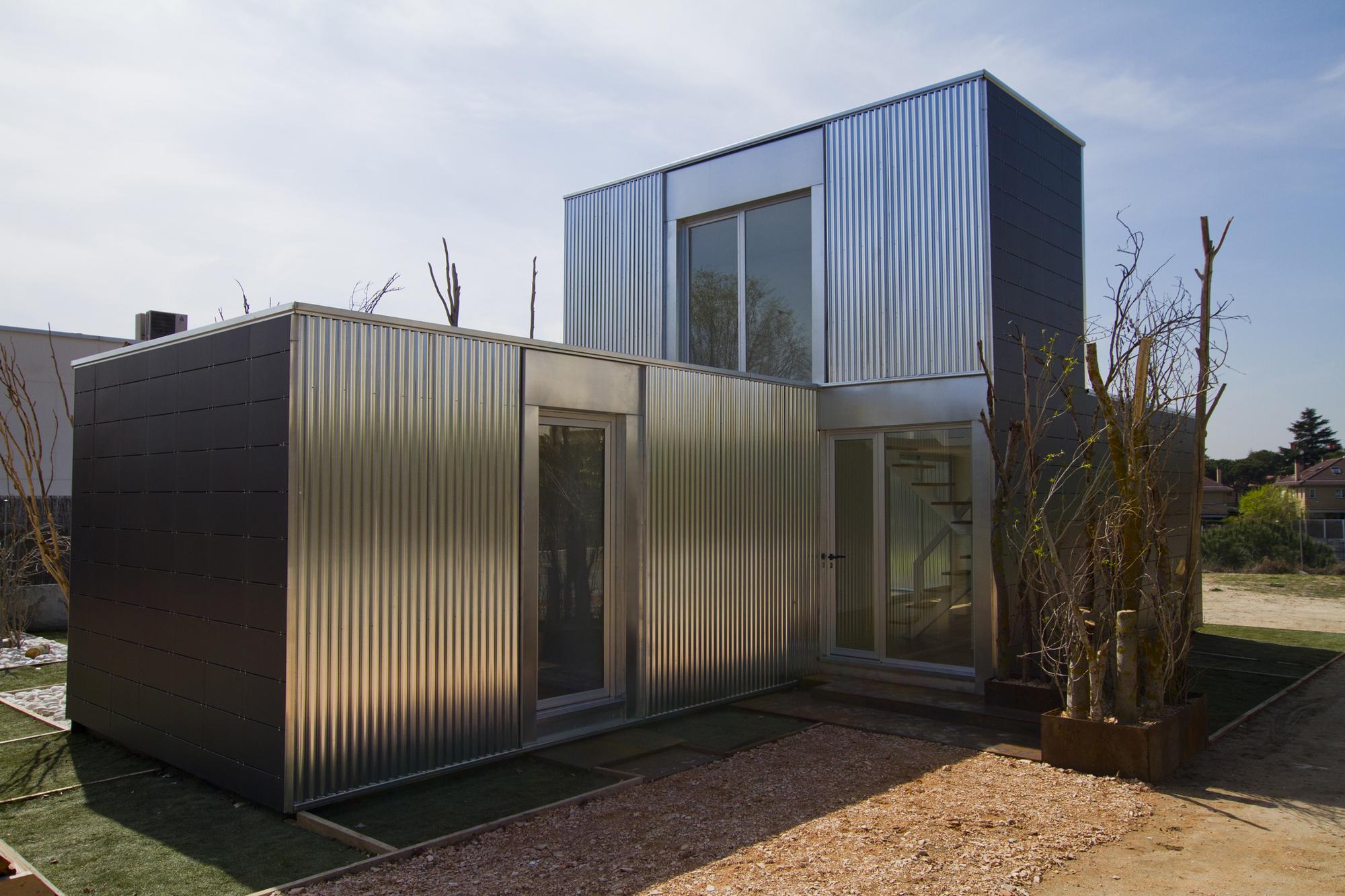 Galer a sistema abierto de viviendas modulares - Casas prefabricadas sostenibles ...