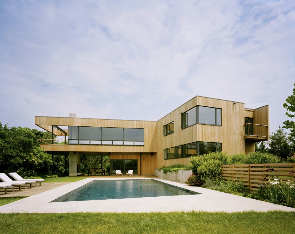 Casa Bluff, en Montauk, New York (EEUU), 2002. Arquitecto: Robert Young