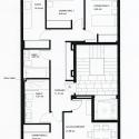 Residential Building in Cieza / Xavier Ozores Planta Tipo 01