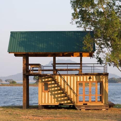 Cabaña en Maduru Oya / Damith Premathilake