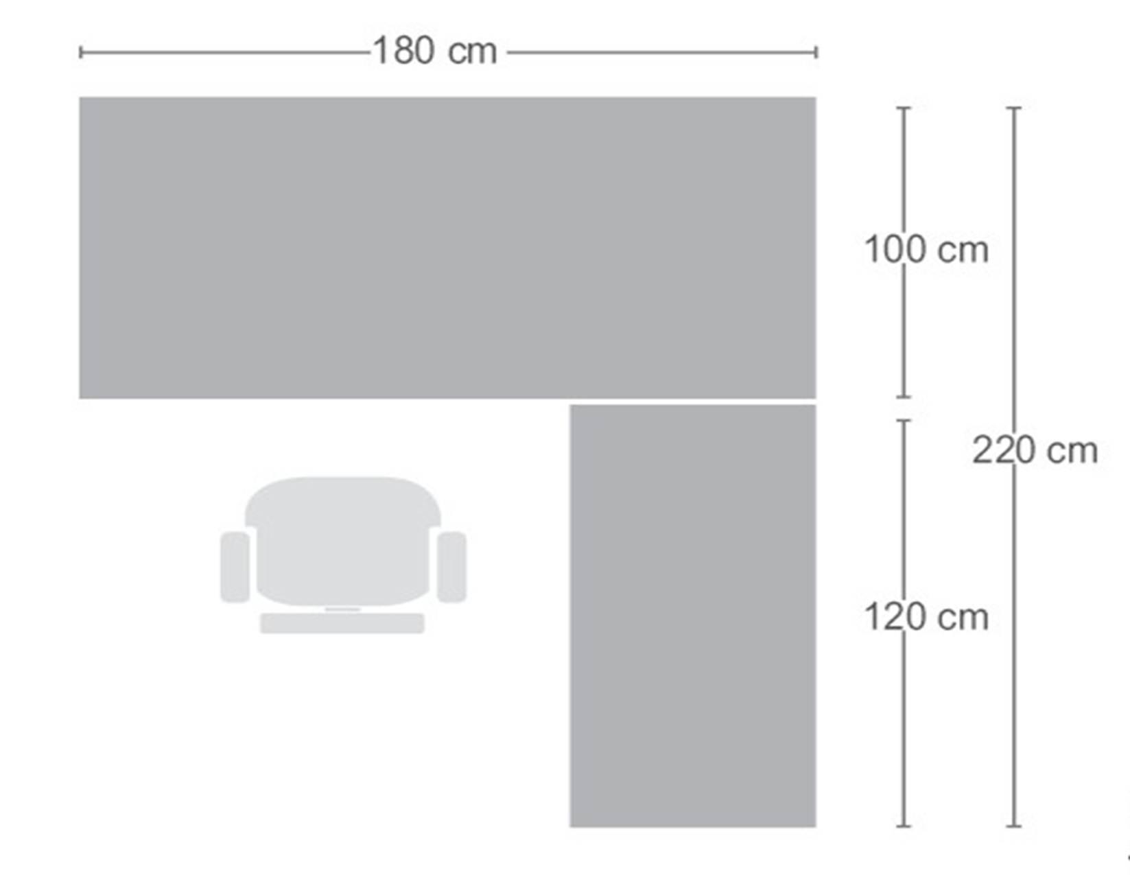 Bash mobiliario de trabajo nacional space one for Dimensiones de un escritorio