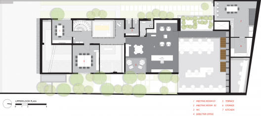 Casa rex fgmf arquitetos planos de casas gratis for Oficinas planta arquitectonica