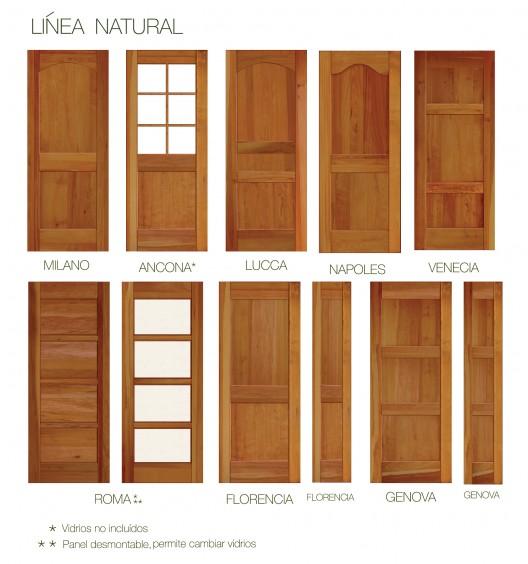 Puertas s lidas de lenga de ignisterra for Modelos de puerta de madera para casa