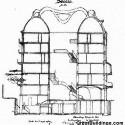 AD Classics: Casa Milà / Antoni Gaudí Sección (vía greatbuildings.com)