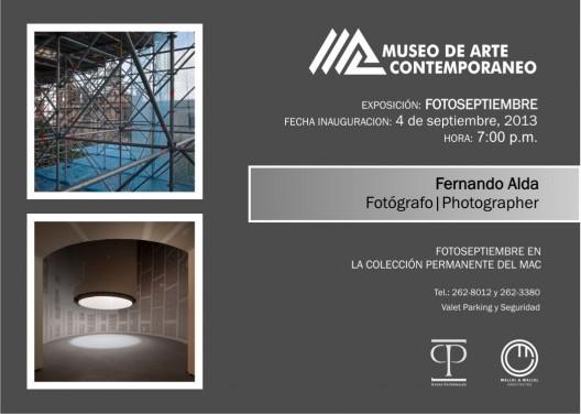 """Exposición """"La Poética del Esqueleto""""  por Fernando Alda"""