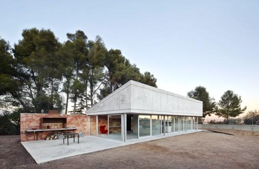 Barbacoa house pepe gasc n arquitectura planos de for Arquitectura planos de casas gratis