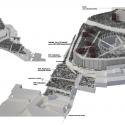 Segundo Lugar Concurso Nacional Reconversión Sitio Estanque: Weber_Bergh Taller de Arquitectura Axonométrica