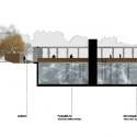 Segundo Lugar Concurso Nacional Reconversión Sitio Estanque: Weber_Bergh Taller de Arquitectura Corte AA