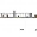 Segundo Lugar Concurso Nacional Reconversión Sitio Estanque: Weber_Bergh Taller de Arquitectura Corte BB
