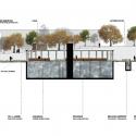 Segundo Lugar Concurso Nacional Reconversión Sitio Estanque: Weber_Bergh Taller de Arquitectura Corte CC