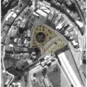 Segundo Lugar Concurso Nacional Reconversión Sitio Estanque: Weber_Bergh Taller de Arquitectura Planta emplazamiento