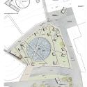 Segundo Lugar Concurso Nacional Reconversión Sitio Estanque: Weber_Bergh Taller de Arquitectura Planta general